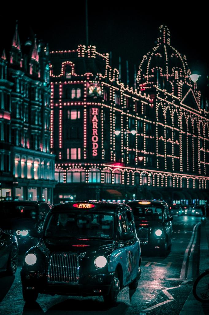 Преводач на диалект на английския език, за да хванете такси в Лондон